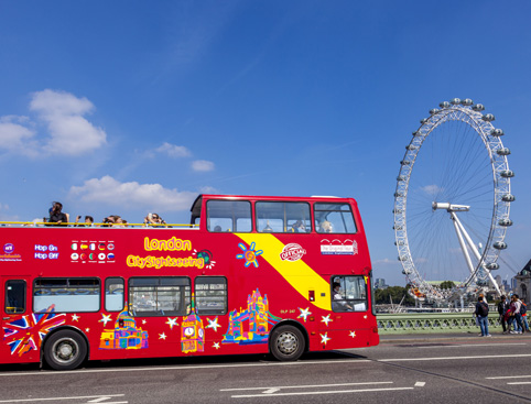 City sightseeing london hop on hop off overview for Tour city londres