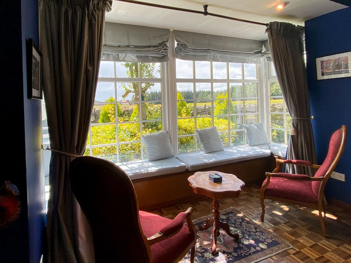 Living area | The Old School House Holiday Cottage, Coaltown of Burnturk, near Cupar