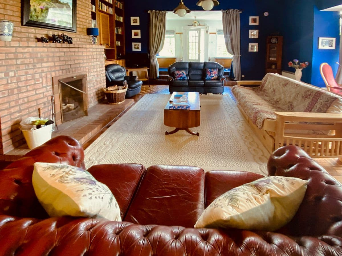 Living room | The Old School House Holiday Cottage, Coaltown of Burnturk, near Cupar